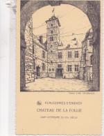 ECAUSSINNES D'ENGHEIN : Château De La Folie - Cour Intérieure Du XVIe Siècle - Ecaussinnes
