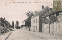 SAINT NOM LA BRETECHE (S ETO) 2 LA GRANDE RUE 1917 - St. Nom La Breteche