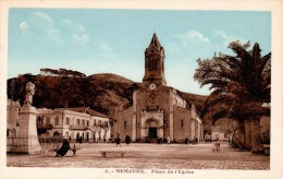 ALGERIE : NEMOURS - Place de l'Eglise