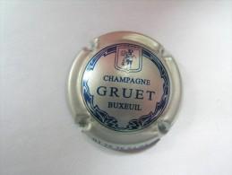 Capsule De Champagne / Muselet - GRUET - BUXEUIL - Gruet