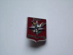 Insigne ECT BAT LOG KAFOR 1° MANDAT TRANSLUCIDE - Armée De Terre