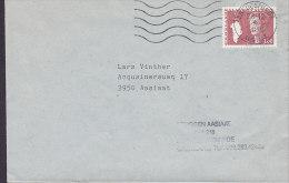 Greenland Deluxe EGEDESMINDE Ausiait 1988 Cover Brief Locally Sent Queen Königin Margrethe 3.00 Kr Stamp - Groenlandia