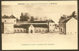 EYSINES Entrpôts Et Chais De MONTRE & Cie Négociants Vins (Sereni) Gironde (33) - Sonstige Gemeinden