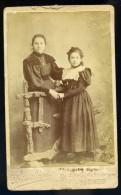 Photographie CDV C.fin 19ème Drouillard Photographe à Limoges - Photo Albuminée - Mars Phot6 - Anciennes (Av. 1900)