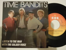 Time Bandits - The Man With The Golden Voice - Cbs 3161 - Holland - Disco, Pop