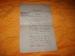DOCUMENT A ETUDIER DE 1877 / GEBURTSURKUNDE N°3379 / STRASSBURG / CACHETS. - Historical Documents
