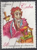 Cuba, 2000 - 50c La Edad De Oro  - Nr.4091 Usato° - Cuba