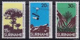1250(6). Suriname, 1972, MNH (**) Michel 643-645 - Surinam