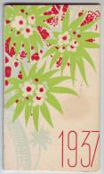 Magnifique calendrier. Las�gue. Produits de beaut�. 1937. Louis Gaillard. Roanne