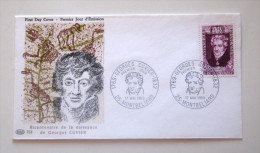 FDC  17/05/1969 - Georges Cuvier (1769-1832) - FDC