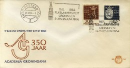 E64 Met Stempel Auto-postkantoor - Blanco / Open Klep - Zeldzaam! - FDC