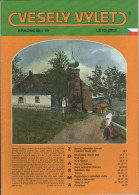 CZ Zeitschrift Vesely Vylet Krkonose Riesengebirge Nr. 19 Leto 2002 Tschechische Ausgabe Pec Velka Upa Horni Marsov - Tschechien