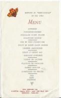 MENU  Du 15 Mai 1960 Banquet Du Demi Siecle 43 - Menükarten