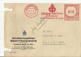 =DE SST 1951 - Poststempel - Freistempel