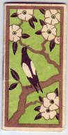 Magnifique calendrier. Fournitures pour modes. D�cor avec une pie. Mme Raynaud. 1935. Roanne