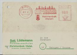 =DE SST 1957 - Poststempel - Freistempel