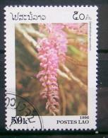 LAOS- 1996 - ORCHIDS -  DENDROBIUM SECUNDUM  -  1  V.  USED -