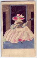 Magnifique calendrier. Dentelles, broderies, layettes. GEORGES. 1933. Roanne