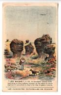 """04 - Chromo - """"Léis Mourré"""" Les Mourres - A 3 Klo. De Forcalquier - Format: 10.8 X 6.8 Cm (berger Avec Son Troupeau) - Other Municipalities"""
