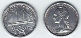 SAINT PIERRE ET MIQUELON 2 Francs *1948* - France