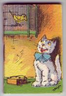 Magnifique calendrier. Petit carnet. 1942.