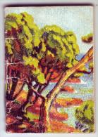 Magnifique calendrier. Petit carnet. G�G�. Montbrison. Loire.1949.