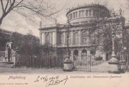 ALLEMAGNE/ MAGDEBURG/Stadttheater....../ Réf:C2852 - Magdeburg