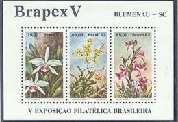 Brazil BF 1792  Orchidee Brapex V, , Neuf** sans charniere