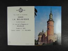 1960 Incendie La Belgique Trazegnies