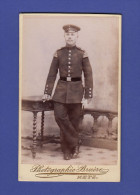 0123 / CDV - Bruère, Metz - Soldat Musiker Schwalbennester - Carte De Visite Photo - Krieg, Militär