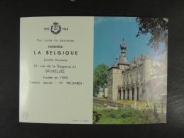 1958 Incendie La Belgique Chimay