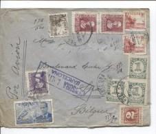 Espana/Espagne/Spain Barcelona 1939 Air Mail To Belgium/Belgica PR1994 - 1931-50 Lettres