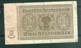Billet  2 Rentmarck - C.82048501  Laubil1804 - [ 3] 1918-1933 : République De Weimar