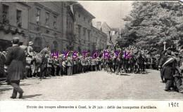 Cosel Entrée Allemands Trompettes Artillerie 15x9cm  1922 Photo Issue D´un Magazine De Cette Année Là - Alte Papiere