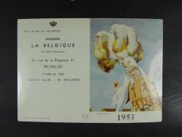 1953 Incendie La Belgique Binche