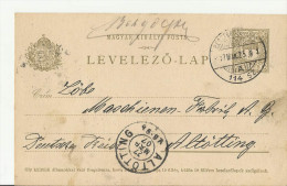 = HU GS 1907 - Ganzsachen