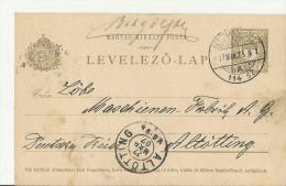 = HU GS 1907 - Enteros Postales