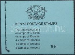 Kenya Stamp Flower Stamp Booklet MNH 1983 Mi 240-242, 244-245 WS168351 - Kenya (1963-...)