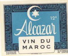 Etiquette Ancienne : Alcazar - Rouges