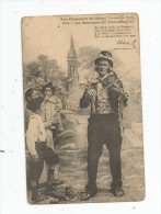 Cp , Folklore , Musique , Les Chansons De BOTREL , La Berceuse Du Violoneux , Violon , Musicien , écrite 1915 - Musique