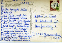 2595   Postal Italia  Malcesine 1987 - 6. 1946-.. Repubblica