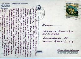 2595   Postal Italia  Menaggio 1986 - 6. 1946-.. Repubblica