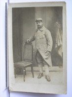 CARTE PHOTO - SOLDAT - SIGNEE JEAN BRUNET - Guerra 1914-18