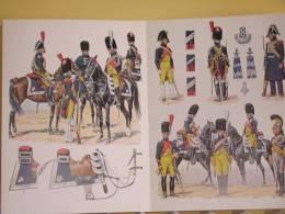 GENDARMERIE D ELITE DE LA GARDE 1801 1815 UNIFORME ARMEMENT EQUIPEMENT PAR ROUSSELOT EMPIRE GENDARME AIGUILLETTE