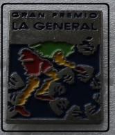 Pin´s Cyclisme Vélo Cycling Gran Premio La Général.pointe Sertie Base Argentée - Radsport