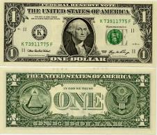 U.S.A.       1 Dollar       P-523a       2006       UNC  [letter K: Dallas]