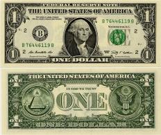 U.S.A.       1 Dollar       P-530       2009       UNC  [letter B: New York]
