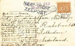 EB30 - NETHERLANDS INDIES Maritime Card 1922 - NED INDIE ZEEPOST - Nederlands-Indië