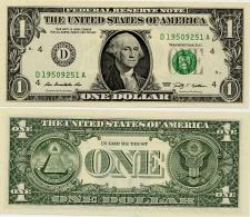 U.S.A.       1 Dollar       P-530       2009       UNC  [letter D: Cleveland]