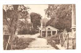 CPA : 90 - Fêche L´Eglise   - Fontaine : Petit Pont - Fontaine ( Lavoir )  - Maisons ... - France